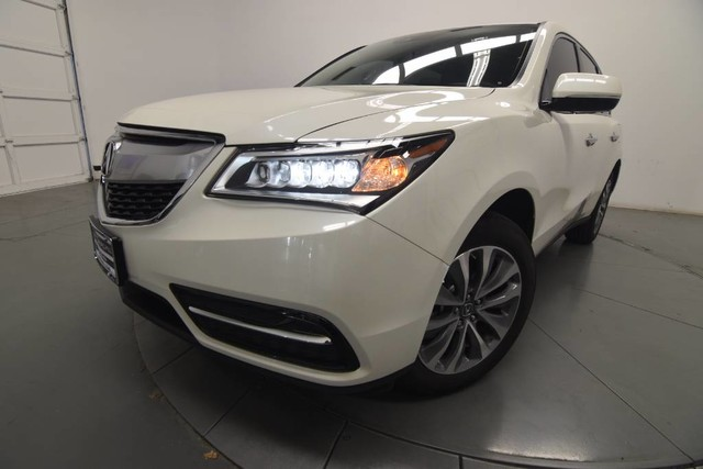 New 2016 Acura MDX with Technology Package